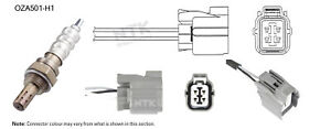 NGK NTK Oxygen Lambda Sensor OZA501-H1 fits Honda Prelude 2.2 VTi-R (BB6) 142 kW