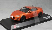 J Collection Toyota GT86 Racing in Orange Metallic JCP73020RA 1/43 NEW