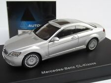AUTOart, 1:43 Scale, MERCEDES-BENZ CL COUPE in SILVER, DIECAST MODEL, Ref. 56241