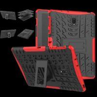Für Huawei MediaPad T5 10.1 Zoll Hybrid Outdoor Case Rot Tasche Cover Hülle Neu