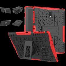 Para Huawei MediaPad t5 10.1 pulgadas Hybrid outdoor case rojo bolso cover funda nuevo
