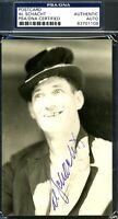 Al Schacht Psa/dna Authenticated Signed Photo Postcard Autograph