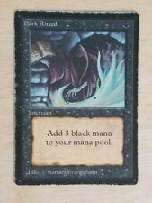 Magic the Gathering MTG - Beta - Dark Ritual x3 HP