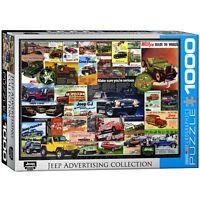 Jeep Publicité 1000 Pièce Puzzle 680mm x 490mm ( Pz )