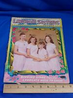VINTAGE - Lennon Sisters Paper Doll Book - Whitman 1957 Folder Clothing MCM