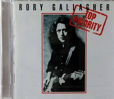 Rory Gallagher-Top Priority UK hard rock blues remaster cd 2 bonus tracks