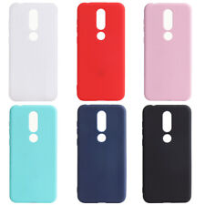 Silicone Rubber Frosted Soft TPU Cover Case For Nokia 7.1 5.1 3.1 Plus 2.1