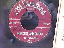 Paradons - Diamonds And Pearls VG+ 45 RB 1960 ON MILESTONE