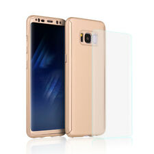 For Samsung Galaxy S8 Plus 360° Full Body Hard Case Phone Cover+Screen Protector