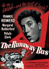 THE RUNAWAY BUS.CLASSIC BRITISH MYSTERY FILM MARGARET RUTHERFORD,FRANKIE HOWARD.