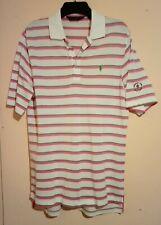 Polo Golf Ralph Lauren White Pink Green Polo Shirt Harbour Town Golf Links Sc Vg