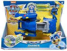 PAW Patrol, Mighty Pups Super Paws Chase's Powered up Cruiser Vehicle NEW