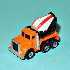 MICRO MACHINES - CEMENT MIXER TRUCK orange - Galoob car