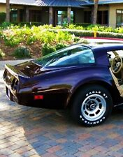 1 1980s Vette Corvette Chevy 43 Vintage Sport Car 24 Carousel Black 12 Metal 18
