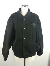 VTG 90'S JOE CAMEL MEN'S SUEDE LEATHER JACKET L 44-46
