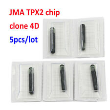 5PCS/LOT KEY CHIP JMA TPX2 CLONER CLONE 4D CHIP TRANSPONDER CHIP