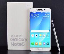 New in Box Samsung Galaxy Note 5 SM-N920 32GB White GSM Unlocked ATT T-Mobile