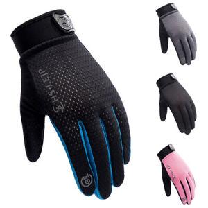Fahrradhandschuhe Herren Damen Mountainbike Touchscreen Handschuhe Sommer Sport
