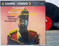 RCA Victor LSC-2150 lp PROKOFIEFF STRAVINSKY Reiner TAS Living Stereo 19S / 24S