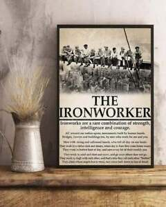 The Ironworker Canvas With Framed / Poster no Framed