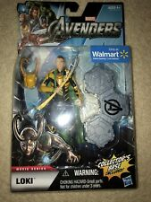 Loki Marvel Avengers Movie Figure Hasbro Walmart Exclusive NEW YELLOW VARIANT