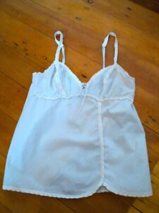 kayser pale pastel blue cami top 8 to 10  stretch