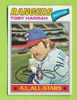 1977 Topps Autographed Card - Toby Harrah (#301)  Texas Rangers