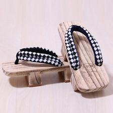 Mens womens flip-flops slippers Casual Block Sandals Japanese Shoes Beach Chic n