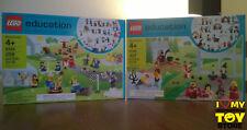 RETIRED - LEGO 9348 9349 COMMUNITY, FAIRYTALE & HISTORIC EDUCATION (2011) - MISB
