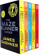 Maze Runner Series James Dashner 5 Books Set- The Death Cure , Scorch Trials NEW