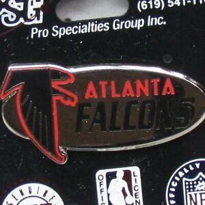 NFL Atlanta Falcons Logo Pin collectible ENAMEL NOS Lapel Hat