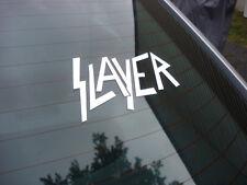 Slayer decal sticker rock metal band