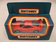 1987 MATCHBOX SUPERFAST MB70 RED FERRARI F40 MIB
