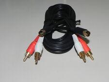 Cavo audio spina mini din 4P + 2 RCA  a spina mini din 4 P  + 2 RCA  2MT