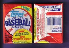 1988 Topps Baseball Wax Pack fresh from box!