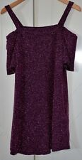 NEW LOOK LUREX RETRO STYLE SHORT DRESS ~ UK SIZE 8 ~ NEW, NO TAGS