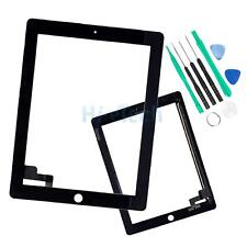 New Touch Screen Glass Digitizer Lens Replacement for iPad 2 Black & Free Tools
