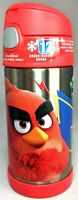 Thermos Funtainer Angry Bird Stainless Steel Insulated 12oz Kids Water Bottle