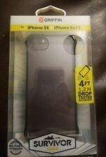 Griffin Survivor Clear, iPhone 5, 5s Ultra Slim See Through Protection