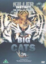 Killer Instinct - Big Cats (DVD) (2005) Rob Bredl New