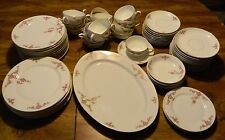Vintage (65) Pieces of H&C Selb Heinrich & Co. Rosalinda Pattern Excellent Cond