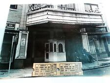 "Vintage 1965 Original ""Spook Show"" Tickets! Old Movie Theater Photos!"