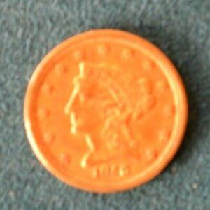 1856 $2.50 Liberty Gold Quarter Eagle