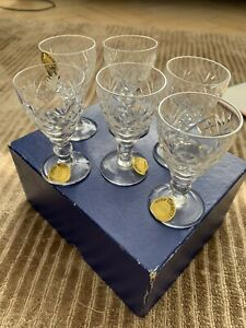 Webb and Corbett crystal glasses