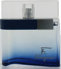 F by Ferragamo Free Time by S. Ferragamo for Men EDT Cologne Spray 3.4 oz.-UB