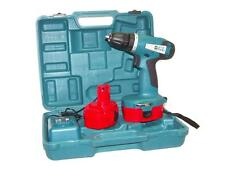"""18V CORDLESS DRILL DRIVER  2  BATTERIES 1 HR QUICK BATTERY CHARGER 3/8"""" GL"""
