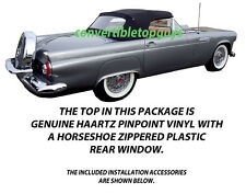 FORD THUNDERBIRD CONVERTIBLE TOP DO IT YOURSELF PACKAGE 1955-1957