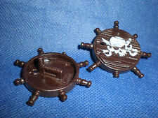 Playmobil Pirate 2 x Shield piratenschilde with Skull UNPLAYED Unrecorded Top