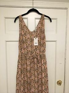$129 NWT NEW Lucky Brand Felice Pattern Cotton Dress S/P Small