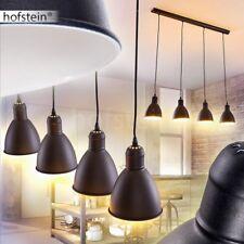 Hänge Leuchten Retro Design Pendel Lampen Ess Wohn Zimmer Beleuchtung schwarz